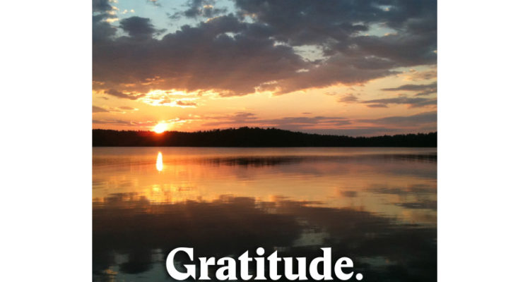 Celebrating My Gratitude